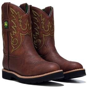 John Deere Kids' Everyday Round Toe Cowboy Boot Toddler/Preschool