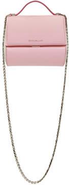 Givenchy Pink and White Mini Pandora Box Bag