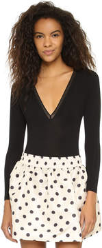 Cosabella Fetherston Runway Plunging Bodysuit