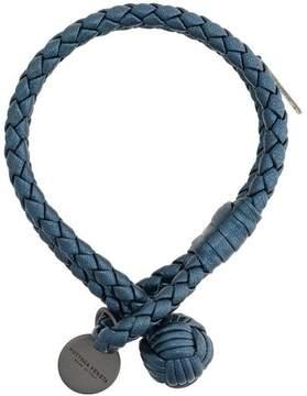 Bottega Veneta intrecciato knot bracelet