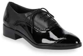 Saks Fifth Avenue Brody Leather Lace-Up Brogues