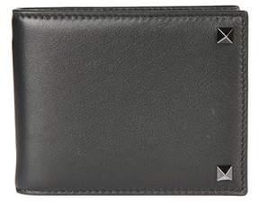 Valentino Men's Py0p0p32vh30no Black Leather Wallet.