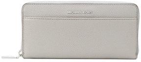MICHAEL Michael Kors logo plaque zip purse - GREY - STYLE