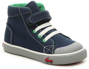 See Kai Run Boys Alex Toddler High-Top Sneaker