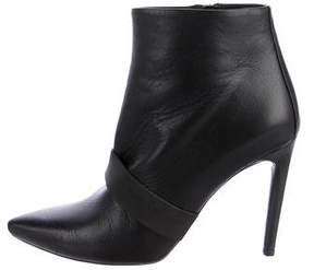 Proenza Schouler Leather Pointed-Toe Booties