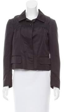 Dries Van Noten Structured Silk Jacket