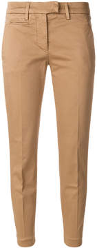 Dondup cropped pleated trousers