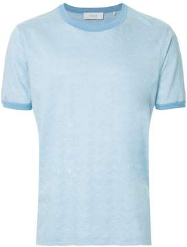 Cerruti wavy jacquard T-shirt