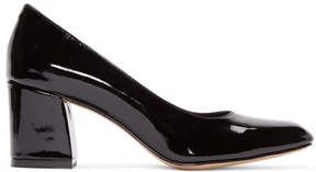 Maryam Nassir Zadeh Black Patent Two-Tone Pumps