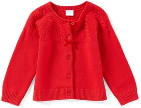 Edgehill Collection Baby Girls 12-24 Months Button-Down Solid Cardigan