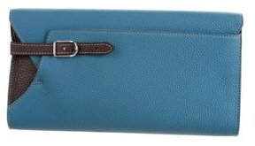 Loro Piana Pebbled Leather Clutch