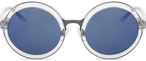 3.1 Phillip Lim PL11C25 clear round-frame sunglasses
