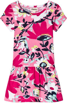 Hatley Pink Tortuga Bay Dropped Waist T-Shirt Dress