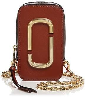 Marc Jacobs Hot Shot Color Block Leather Shoulder Bag - BRICK MULTI/GOLD - STYLE