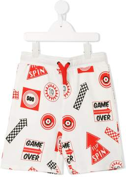 Stella McCartney Rob Games print shorts