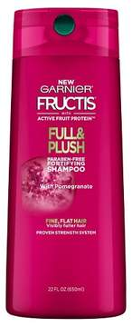 Garnier® Fructis® with Active Fruit Protein Full & Plush Fortifying Shampoo with Pomegranate - 22oz