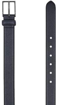 Topman Navy Leather Belt