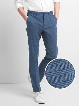 Gap Original Plaid Khakis in Slim Fit with GapFlex