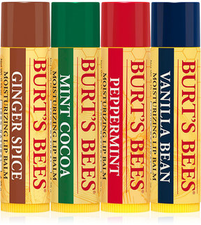 Burt's Bees 4-Pc. Limited Edition Lip Balm Assortment Holiday Gift Set