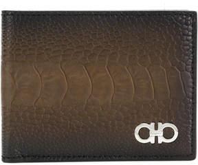 Salvatore Ferragamo ombré bifold wallet