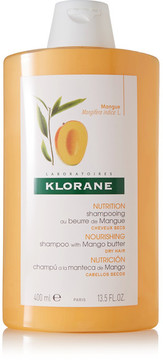 Klorane Shampoo With Mango Butter, 400ml - Colorless