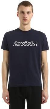 Invicta Logo Cotton Jersey T-Shirt