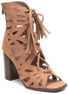 Two Lips Too Rhonda Lace-Up Sandal