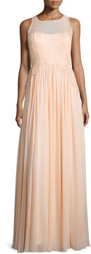 Donna Morgan Penelope Sleeveless A-Line Gown