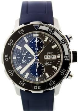 IWC Aquatimer Chronograph Automatic Grey Dial Men's Watch