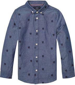 Scotch & Soda Embroidered Shirt
