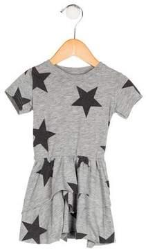Nununu Girls' Star Print Dress