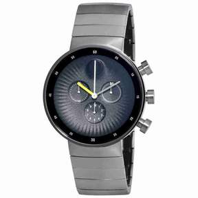 Movado Edge Chronograph Black Dial Stainless Steel Men's Watch 3680009