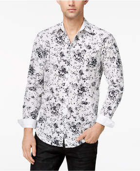 INC International Concepts I.n.c. Men's Miguel Splatter-Print Shirt, Created for Macy's