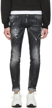DSQUARED2 Black Clement Jeans