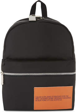 CALVIN KLEIN 205W39NYC Logo backpack