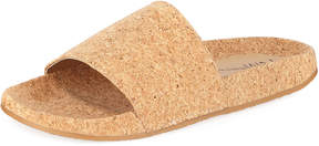 Neiman Marcus Alloft Cork Slide Pool Sandal