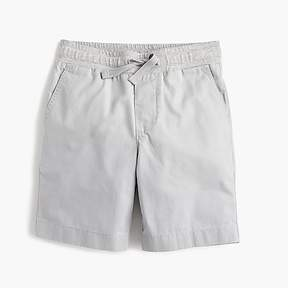 J.Crew Boys' pull-on short in lightweight chino