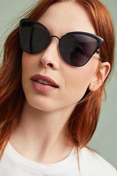 Anthropologie Dramatic Cat-Eye Sunglasses