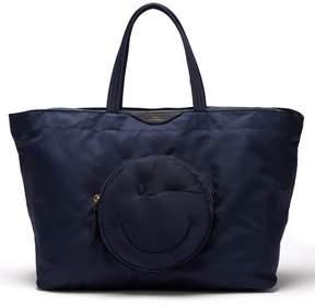 Anya Hindmarch Chubby Wink Nylon Tote Bag - Womens - Navy