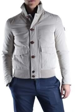 Geospirit Men's Beige Polyamide Outerwear Jacket.