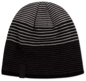Calvin Klein Mens Reversible Beanie Hat Black One Size