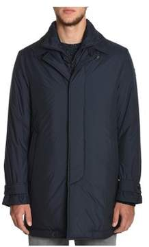 Montecore Men's Blue Polyester Outerwear Jacket.