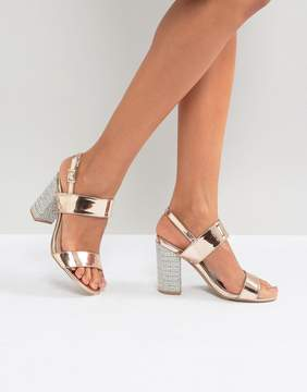 Qupid Block Heel Sandals