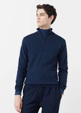 Mango Outlet High collar wool sweater