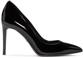 Dolce & Gabbana Black Patent Leather Kate Heels