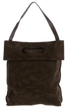 Tom Ford Convertible Suede Tote Backpack