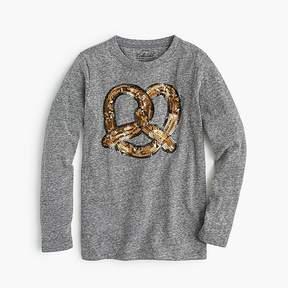 J.Crew Girls' pretzel T-shirt