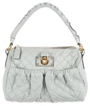 Marc Jacobs Quilted Leather Handle Bag - GREEN - STYLE