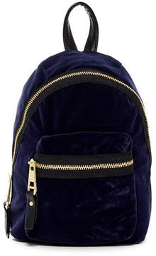 Madden Girl Mini Velvet Backpack