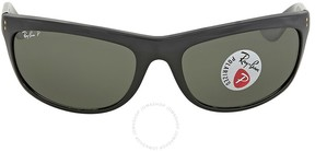 Ray-Ban Balorama Green Classic G-15 Polarized Sunglasses RB4089 601/58